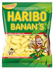 MILE BANANA 18 90GR HARIBO