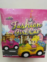 FASHION GIRLS CAR 12U FANTASY