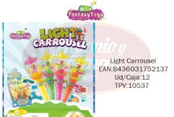 LIGHT CARRUSEL 12U FANTASY