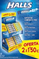 LT HALLS 2 1 5    50U MDLZ 4069701 extraf