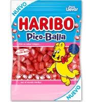 PICO BALLA ROJO 1K HARIBO
