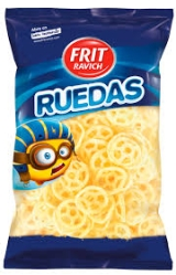 SNACKS RUEDAS 85GR