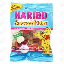 GOMITAS FAVORITOS CL  SICO 18U HARIBO