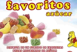 GOMITAS FAVORITOS AZ  CAR 1KG HARIBO