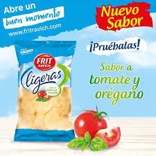 PATATAS FRITAS LIGERAS SABOR TOMATE OREGANO 125GR