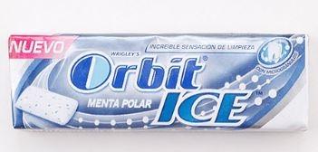 CHICLES ORBIT ICE MENTA 10U