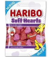 MILE SOFT HEARTS 18U HARIBO