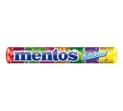 CHICLES MENTOS GUM FRUIT STICK 40U