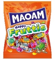 GOMITAS MAOAM HAPPY FRUITS 12U HARIBO