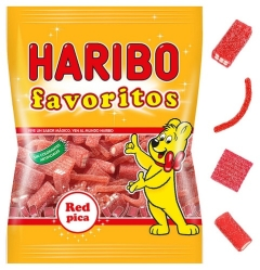 MILE FAVORITO RED MIX 18U HARIBO