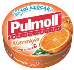 CARAMELO PULMOLL NARANJA 10 UNID