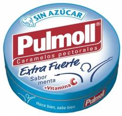 CARAMELO PULMOLL MENTA FUERTE 10 UNID