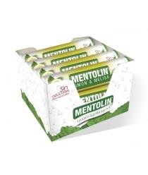 MENTOLIN TUBO 12U LIMON/MELISA SIN AZUCAR 20g