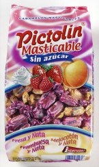CARAMELOS PICTOLIN MASTICABLE SIN AZ  CAR 1KG