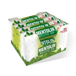 MENTOLIN TUBO 12U MOJITO S A 20g