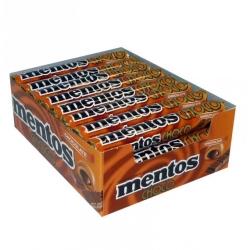 CARAMELOS MENTOS CHOCOLATE 24U