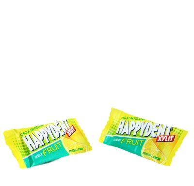 CHICLES HAPPYDENT LIMON 200U