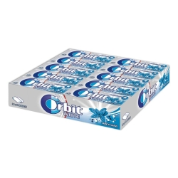 CHICLES ORBIT MENTA SUAVE 30U