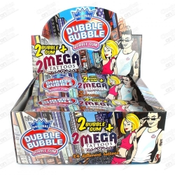 CHICLES DUBU MEGATATTO 24U
