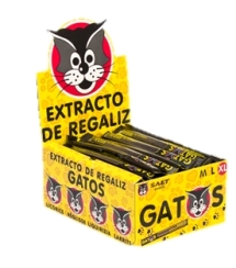 EXTRACTO REGALIZ GATO XL 85u