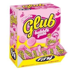 CHICLES FINIGUM GLUB FRESA 200U