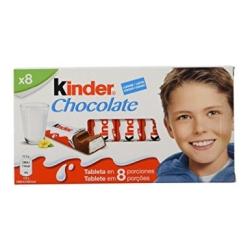 BARRITA KINDER CHOCOLATE 10UD