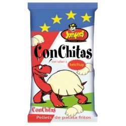 SNACKS CONCHITAS KETCHUPS 40U