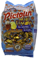 CARAMELOS PICTOLIN SIN AZ  CAR MIEL 1 KG