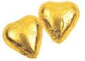 CHOCOLATINA CORAZON ORO 1KG