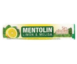 MENTOLIN TUBO 12U LIMON MELISA SIN AZUCAR 20g