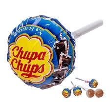 1 UNIDAD SUPER CHUPS COLA AZUL