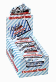 CARAMELOS FISHERMAN  S EXTRAFUERTES SIN AZ  CAR