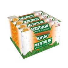MENTOLIN TUBO 12U NARANJA S A 20g