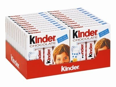 KINDER CHOCOLATE T4 20U FERRERO
