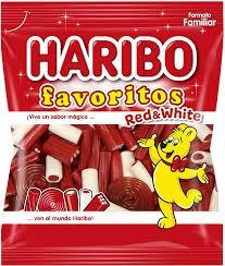 MAXI PACK FAVORITO RED WHITE K  HARIBO