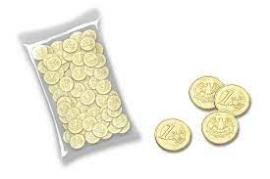 MONEDAS 1    720GR INTER DULCE