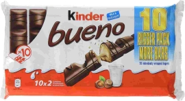 PACK 1U KINDER BUENO CHOCO 10