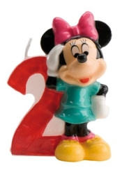VELA DISNEY MINNIE N  2 1U 12 DEKORA