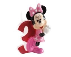 VELA DISNEY MINNIE N  3 1 U 12 DEKORA