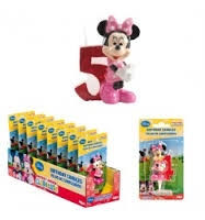 VELA DISNEY MINNIE N  5 1U 12 DEKORA