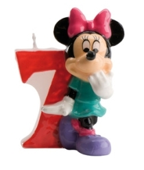VELA DISNEY MINNIE N  7 1U 12 DEKORA