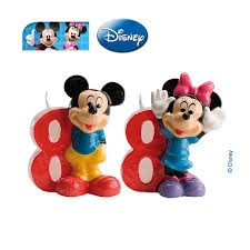 VELA DISNEY MINNIE N  8 1U 12 DEKORA