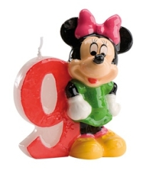 VELA DISNEY MINNIE N  9 1U 12 DEKORA