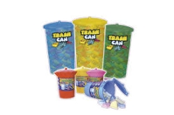 TRASH CAN 60U  REFRESQUITO  TOP CANDY