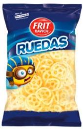 SNACKS RUEDAS 85GR