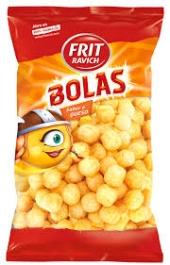 SNACKS BOLAS DE QUESO 100GR
