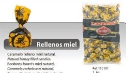 CARAMELOS GERIO RELLENOS DE MIEL 1KG