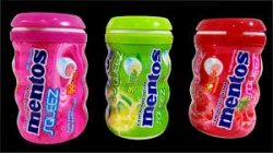 CHICLES MENTOS GUM LIMON 10U