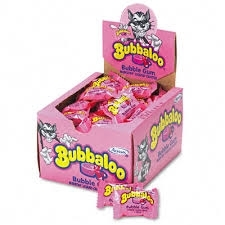 CHICLES BUBBALOO TUTTI FRUTI 60U