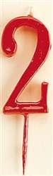 VELA ROJA Nº2  1U(12)DEKORA